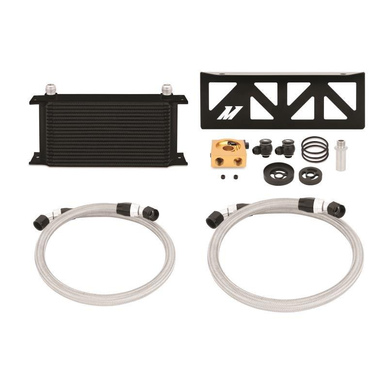 Zestaw chłodnica oleju MISHIMOTO Subaru BRZ / Scion FR-S Thermostatic Black 2013+ - GRUBYGARAGE - Sklep Tuningowy